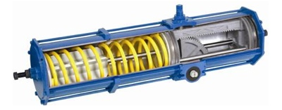 DRC - Pneumatic & Hydraulic Rack and Pinion Actuator
